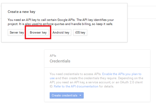 Google Maps API Key - Jomres User Manual