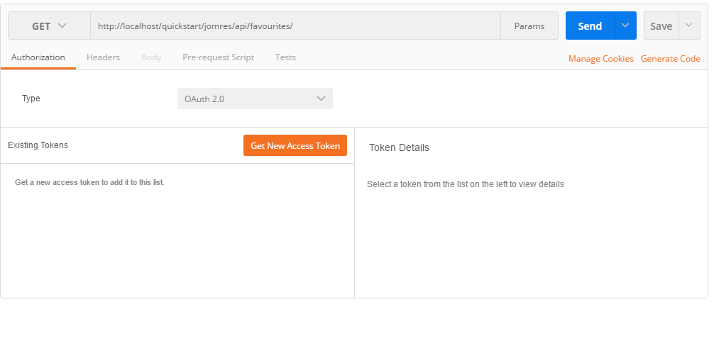 Using Postman to access the API - Jomres User Manual